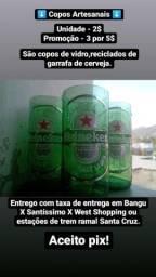 Título do anúncio: Copos Artesanais Heineken