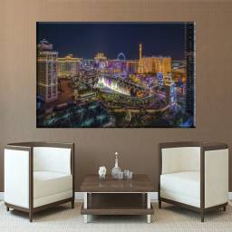 Quadros decorativos Cidades 90X60cm