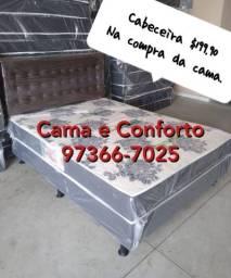 FRETE GRÁTIS!!! CAMA BOX CASAL DIRETO DA FÁBRICA!!!