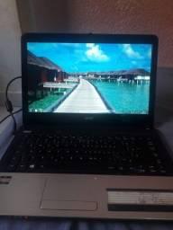 NOTEBOOK ACER AMD E1 1200 4GB de RAM HD 320GB