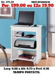 Mesa de Computador e Notebook-Escrivaninha para Estudo-Saldão ms