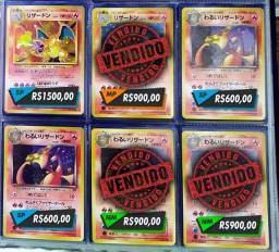 Cartas Pokemon Japonesas antigas