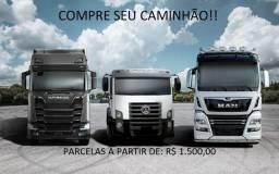Compre seu Caminhão Caçamba parcelado!!