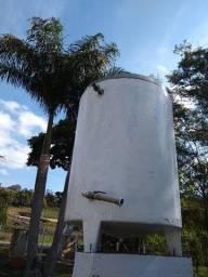 tanque inox 304 isotérmico 2300 litros, com tampa, usado e perfeito estado