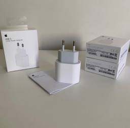 Garantia 3 meses - Fonte original carregador turbo 20W iPhone Apple