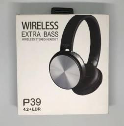 Fone Bluetooth Jbl Headphone Estéreo P39 Sem Fio Novo na Caixa