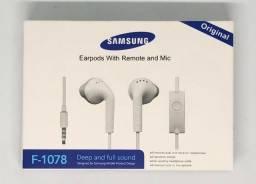 Fone de Ouvido Samsung com Fio Produto Novo na Caixa