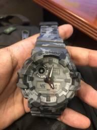Relógio G-shock camuflado comprar usado  Rio de Janeiro