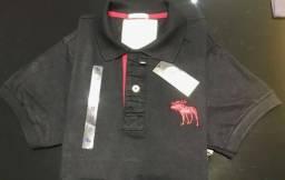 Camisas polos abercrombie atacado minimo 10 pcs comprar usado  João Pessoa