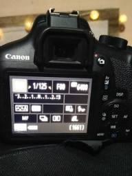 Canon T6 nova só o corpo