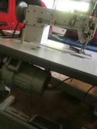 Maquina de costura transporte duplo industrial