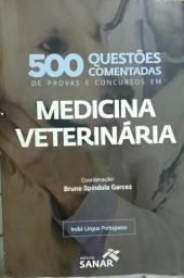 500 questões comentadas de provas e concursos em medicina veterinária
