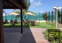 Apartamento de luxo na beira mar da praia de tabatinga por r$ 299.000 - todo climatizado e