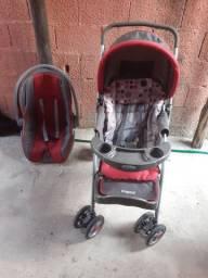 Kit com carrinho de Bebê