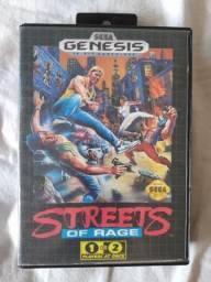 Cartucho Mega Drive Streets Of Rage Original Sega Genesis