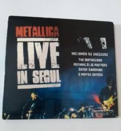 CD Metallica Live in Seoul