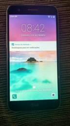 Celular LG K10, 2/32gb, 4g, preto, bem conservado
