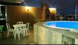 Jacarepaguá - Excelente cobertura duplex 4 quartoss