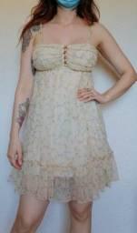 Vestido vintage floralzinho, tamanho P