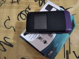 Celular DL YC-230 - Flip dual chip Roxo