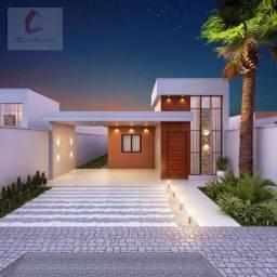 Casa com 3 dormitórios à venda, 118 m² por R$ 419.000,00 - Eusébio - Eusébio/CE