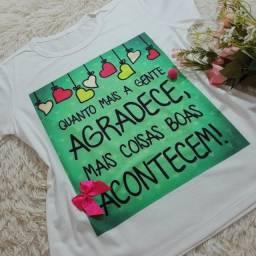 Blusa Feminina T-shirt Lançamento