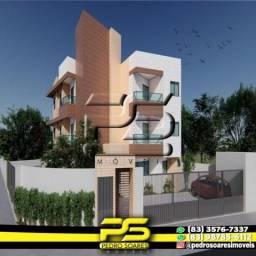 Apartamento com 2 dormitórios à venda, 50 m² por R$ 155.000 - Castelo Branco - João Pessoa