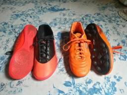 Chuteira Penalty e Society Umbro (Futsal)