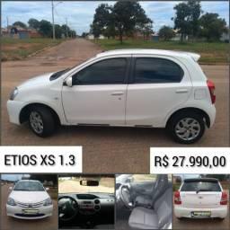 Etios XS 1.3 13/13 R$ 27.990,00 - 2013