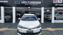 Toyota.Corolla XEI. 2018/2019 Flex.2.0. Branco - 2019