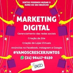 Marketing Digital - Redes sociais - Site - instagram