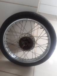 Roda completa  da titã 125