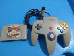 controle Nintendo 64 aceito cartão