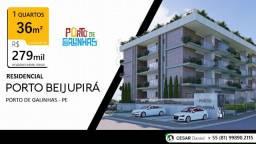 DPA|36m² | 450 m²| do mar| Alto Padrão| Porto de Galinhas