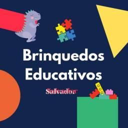 Vendo brinquedos educativos e playground