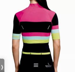 Camiseta Ciclismo Lupo Pro Cycle 3 Bolsos Refletiva