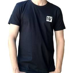 Camiseta Manga Curta 100% Algodão - NV