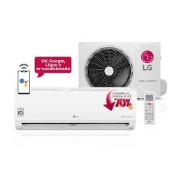 Ar Condicionado Split Hi-Wall LG DUAL Inverter Voice 9.000 Btu/h Frio 220V
