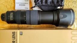 Lente Nikon 200-500mm Novíssima