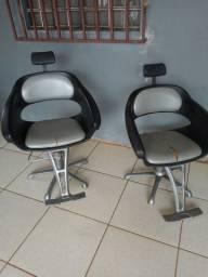 Cadeiras para salão e barbearia