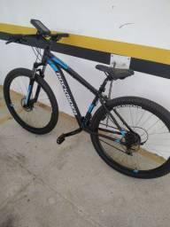 Bicicleta Aro 29 Pouco Usada + Acessórios