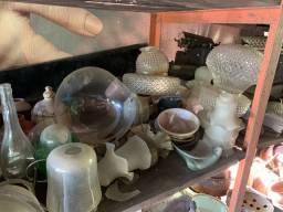 Lote vidros antigos