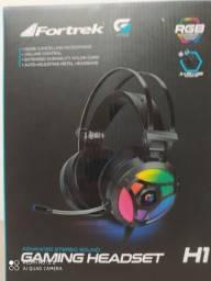 Headset Fortrek G Pro RGB áudio 5.0