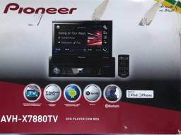 RÁDIO PIONEER DVD - AVH-X7880TV