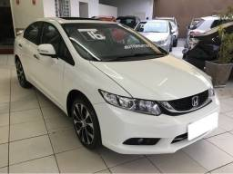 Honda Civic branco 2.0 exr 16v flex 4p