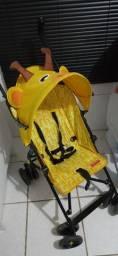 Carrinho de bebê passeio Fisher Price (Girafa)