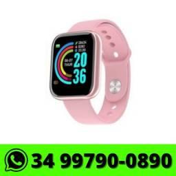 Relógio Smartwatch D20 Bluetooth Android e IOS