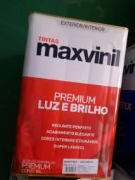 Oferta tinta semi brilho cores claras 18L lavável na Cuiabá tintas   - imperdível!!!