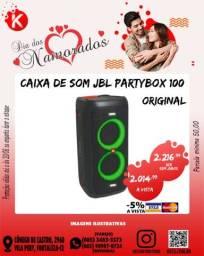 Caixa de Som JBL Partybox 100 Original
