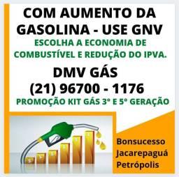 Promoção Kit Gás GNV Rio de Janeiro